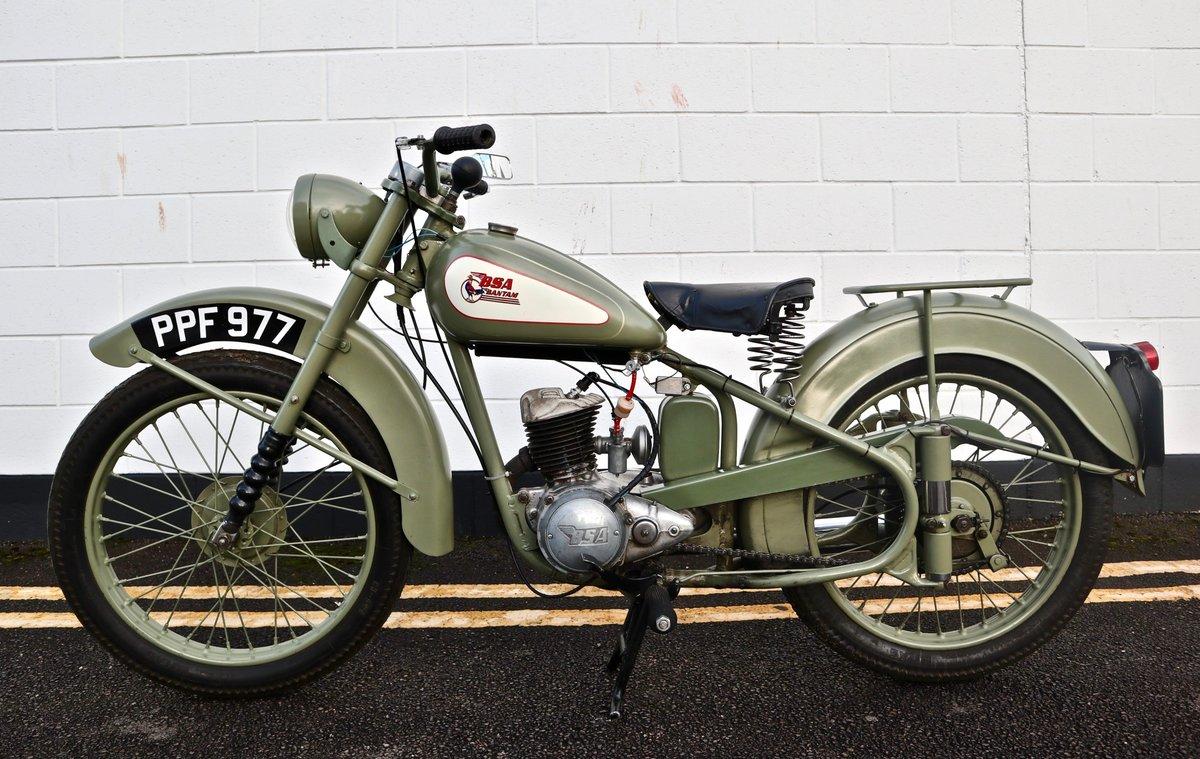 1951 BSA Bantam D1 Plunger 125cc - Excellent For Sale (picture 2 of 11)
