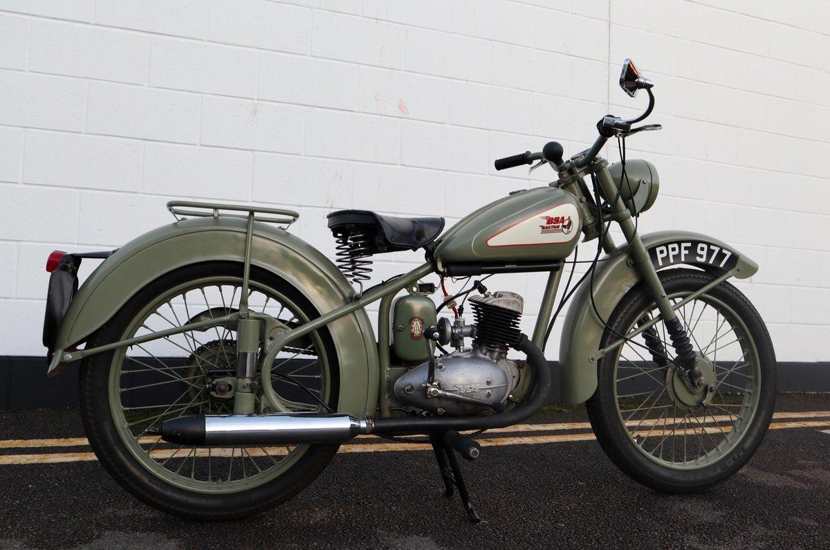1951 BSA Bantam D1 Plunger 125cc - Excellent For Sale (picture 3 of 11)
