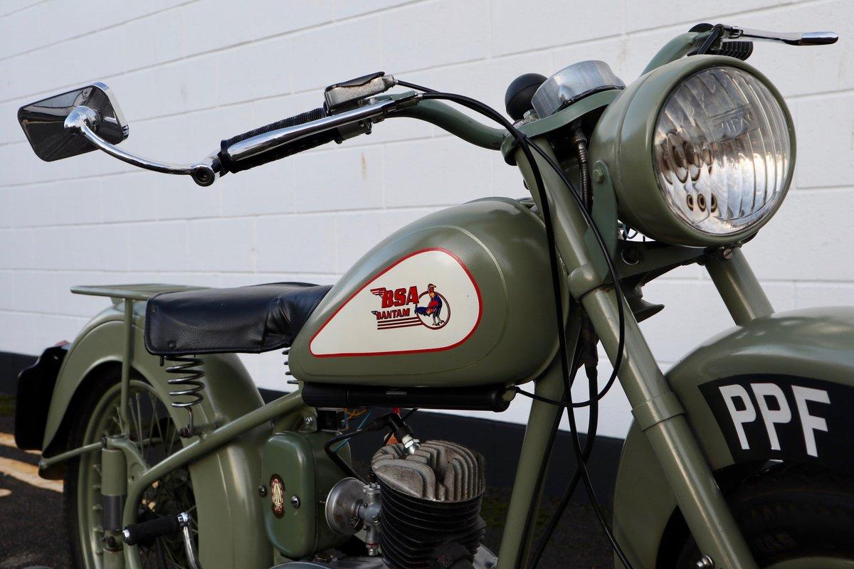 1951 BSA Bantam D1 Plunger 125cc - Excellent For Sale (picture 5 of 11)