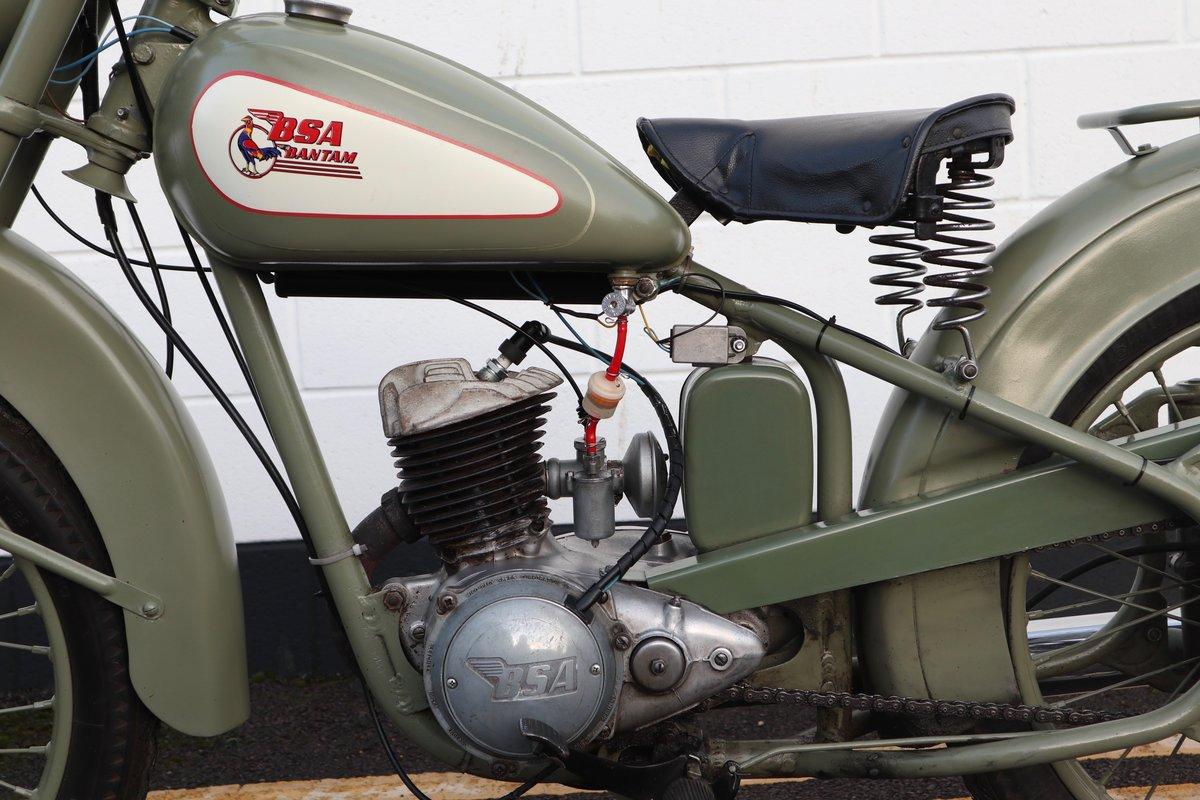 1951 BSA Bantam D1 Plunger 125cc - Excellent For Sale (picture 6 of 11)