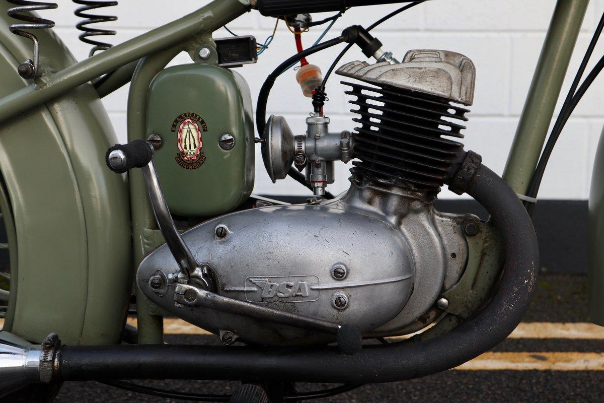 1951 BSA Bantam D1 Plunger 125cc - Excellent For Sale (picture 7 of 11)