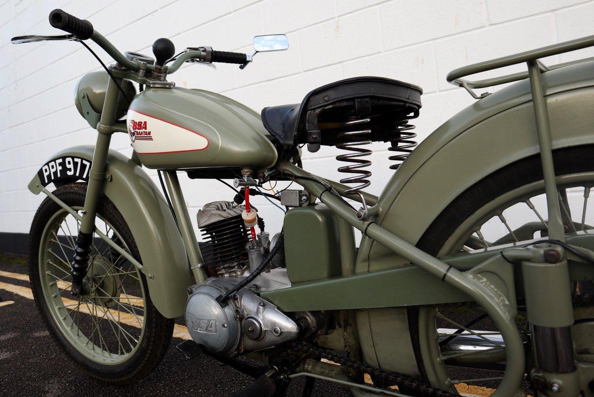 1951 BSA Bantam D1 Plunger 125cc - Excellent For Sale (picture 8 of 11)