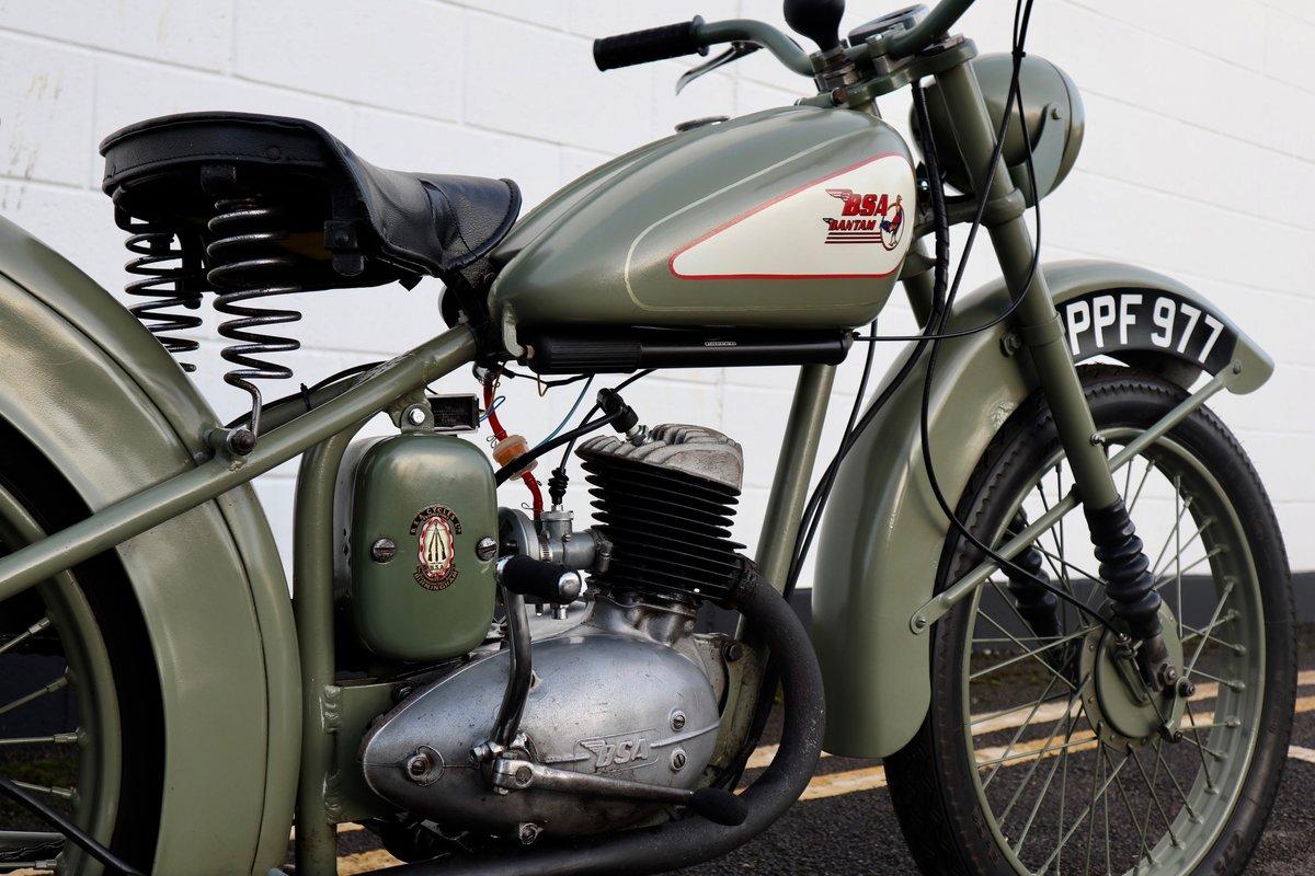 1951 BSA Bantam D1 Plunger 125cc - Excellent For Sale (picture 9 of 11)