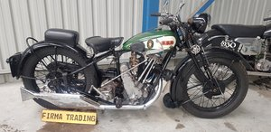 Picture of 1930 BSA Sloper Twin POrt 500cc by Firma Trading Australia