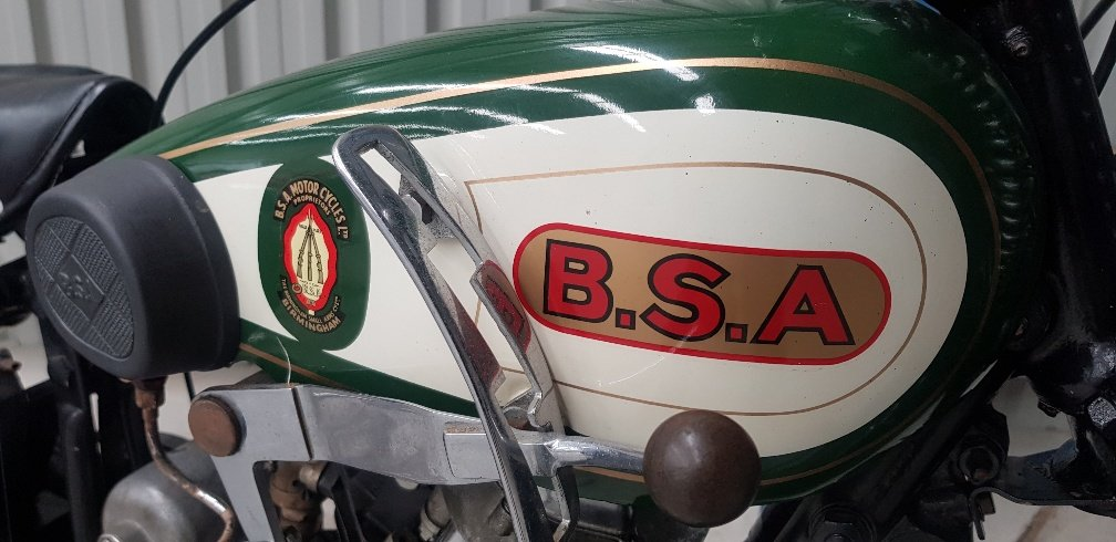 1930 BSA Sloper Twin POrt 500cc by Firma Trading Australia For Sale (picture 2 of 6)