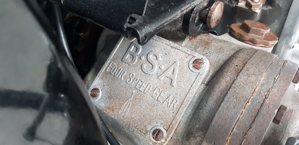 1930 BSA Sloper Twin POrt 500cc by Firma Trading Australia For Sale (picture 6 of 6)