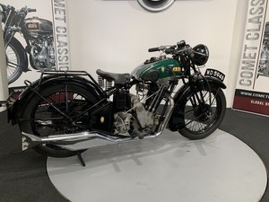 1933 BSA Sloper 600cc