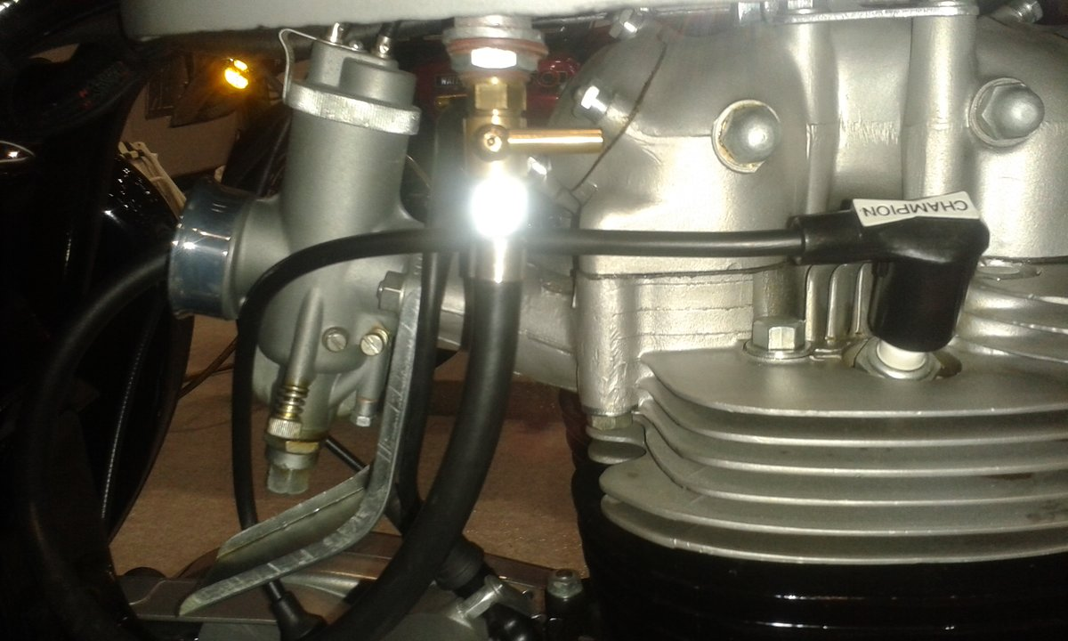 1963 BSA Rocket Goldstar,  Genuine-Numbers Matching SOLD (picture 6 of 11)