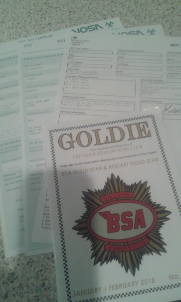 1963 BSA Rocket Goldstar,  Genuine-Numbers Matching SOLD (picture 10 of 11)