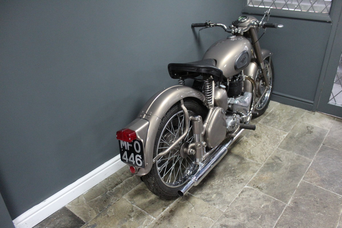 1953 BSA Gold Flash 650 cc , Frame number BA7S-10677 For Sale (picture 2 of 14)