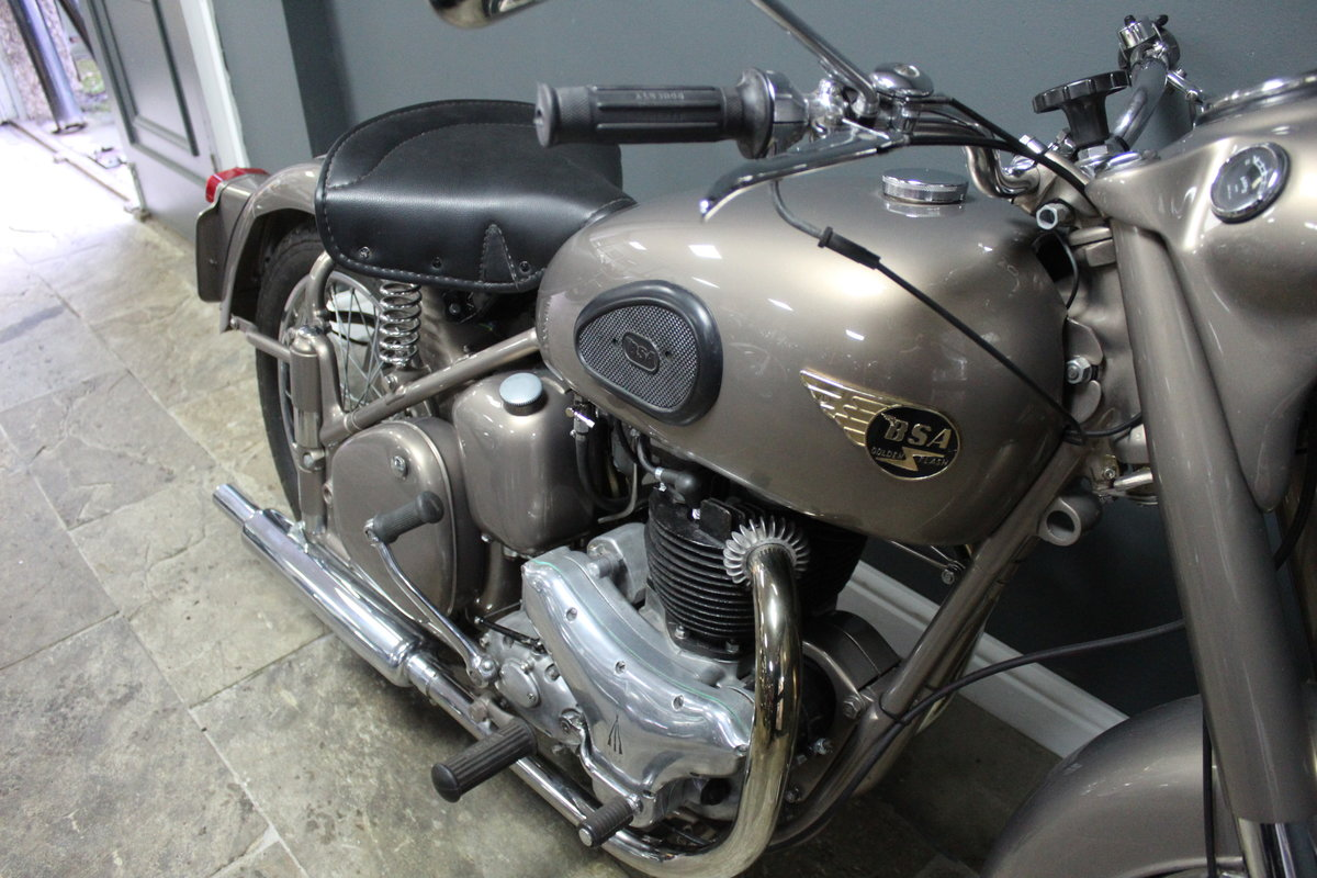 1953 BSA Gold Flash 650 cc , Frame number BA7S-10677 For Sale (picture 7 of 14)