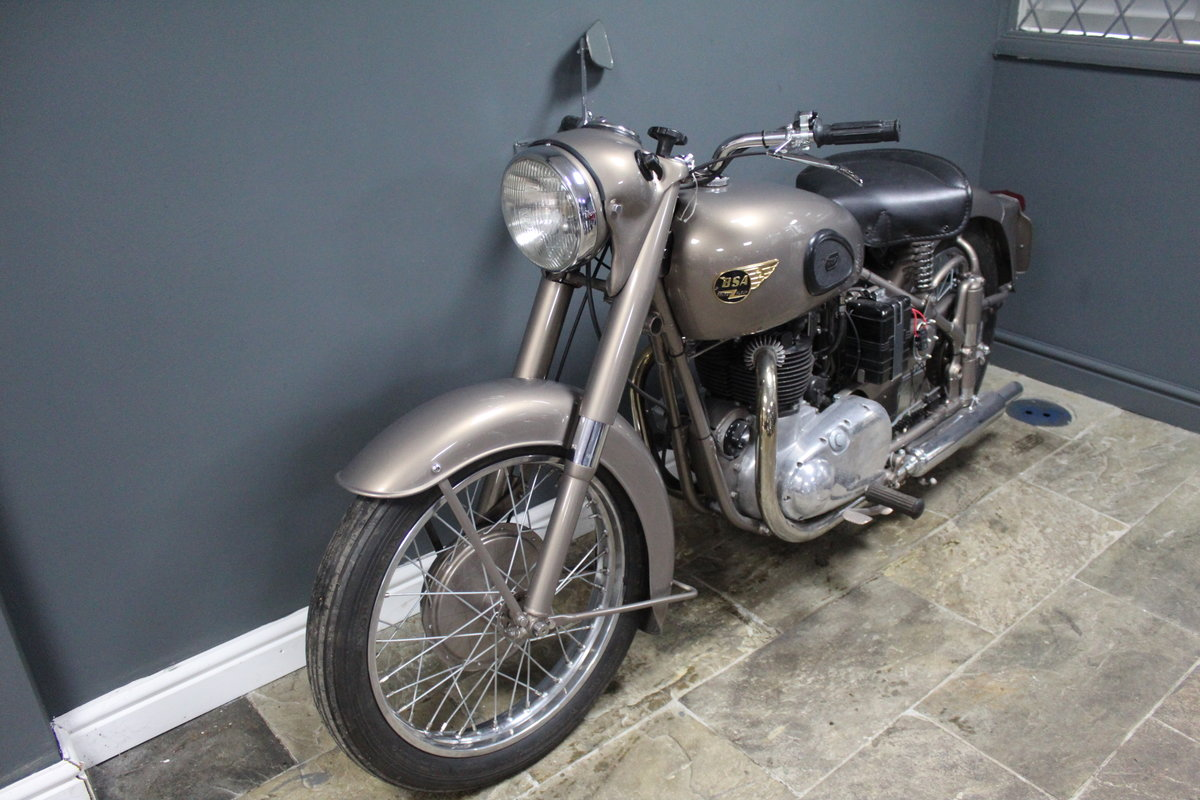 1953 BSA Gold Flash 650 cc , Frame number BA7S-10677 For Sale (picture 9 of 14)