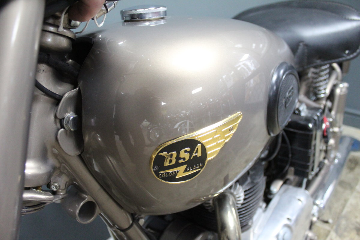 1953 BSA Gold Flash 650 cc , Frame number BA7S-10677 For Sale (picture 10 of 14)