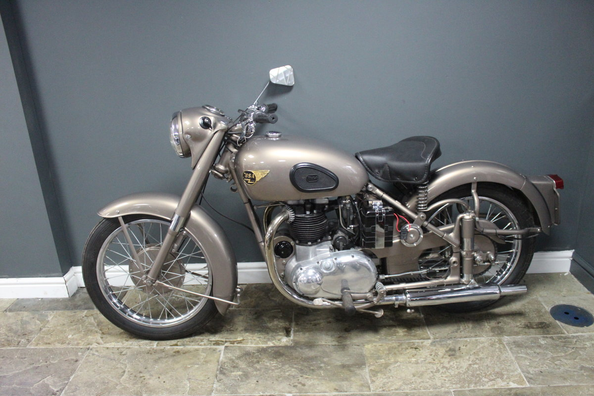 1953 BSA Gold Flash 650 cc , Frame number BA7S-10677 For Sale (picture 11 of 14)
