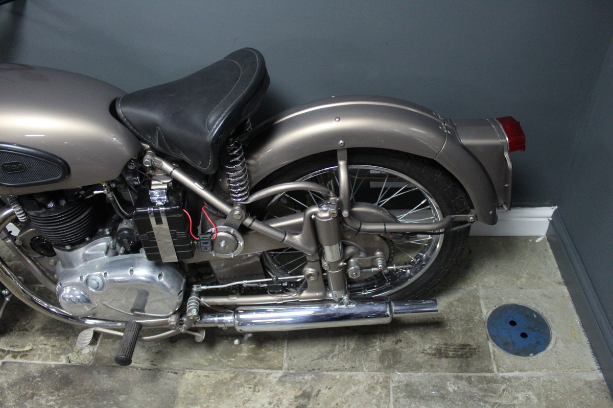 1953 BSA Gold Flash 650 cc , Frame number BA7S-10677 For Sale (picture 13 of 14)