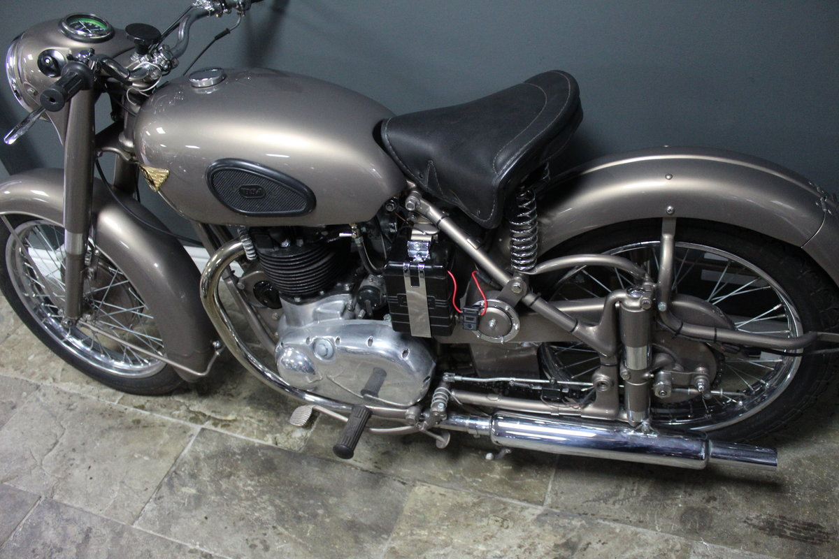 1953 BSA Gold Flash 650 cc , Frame number BA7S-10677 For Sale (picture 14 of 14)