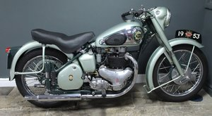 Picture of 1953  BSA Star Twin 500 cc , Frame number BA7S9926