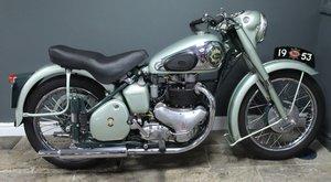 1953 BSA Star Twin 500 cc , Frame number BA7S9926