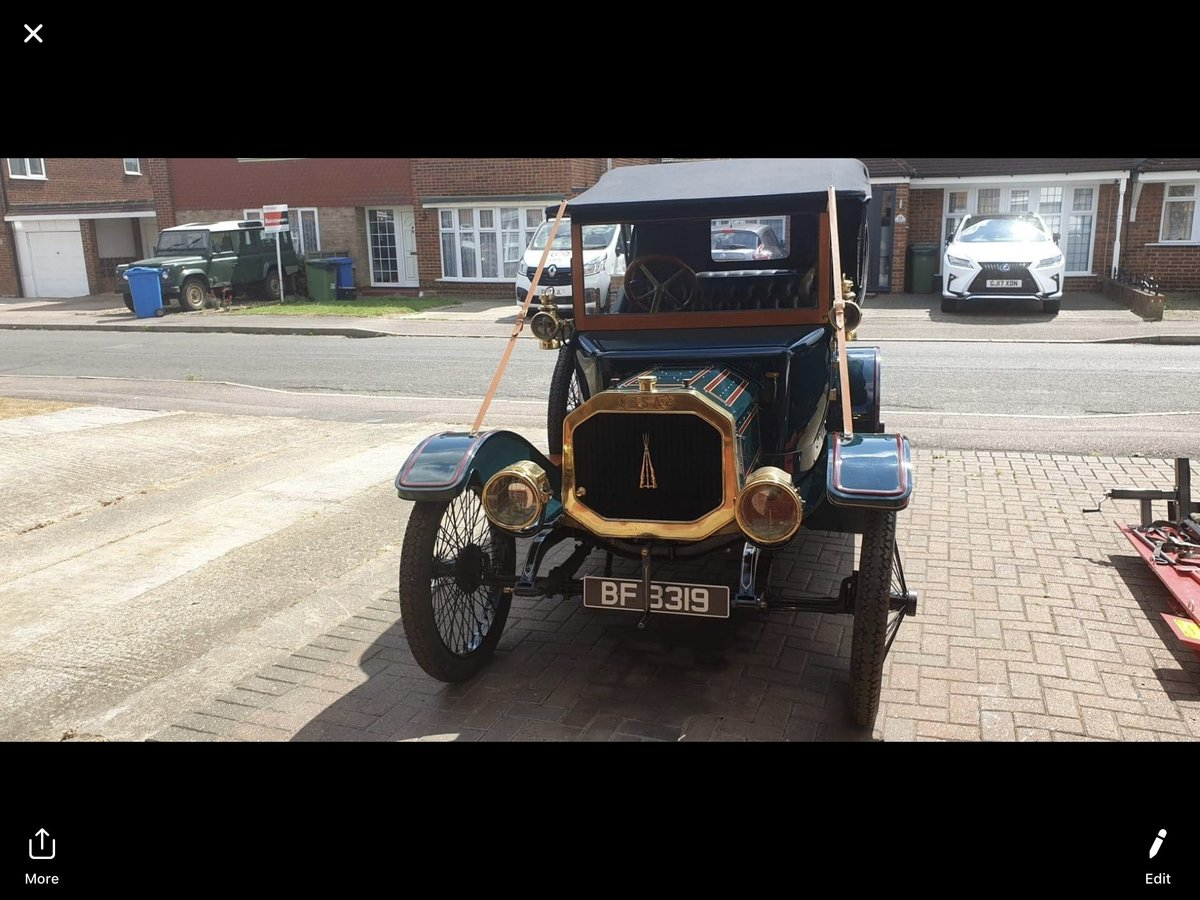 1912 B.S.A Tourer For Sale (picture 2 of 4)