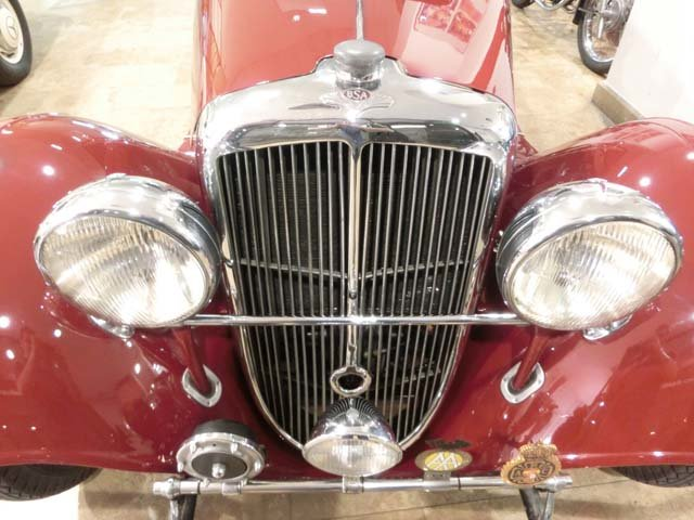 BSA SCOUT SERIES 6 DE LUXE 10 HP - 1939 For Sale (picture 11 of 12)