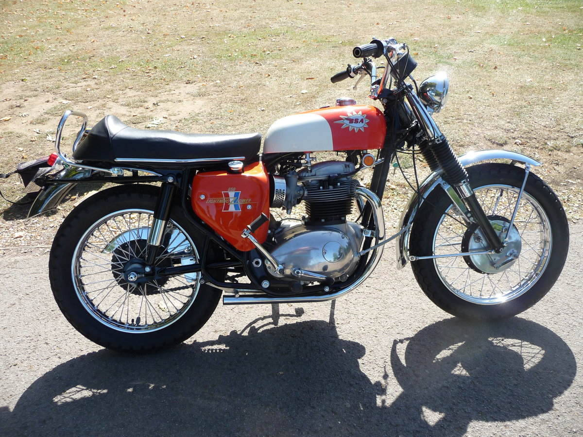 1967 BSA TT Hornet Number 68 of 70 made For Sale (picture 2 of 7)