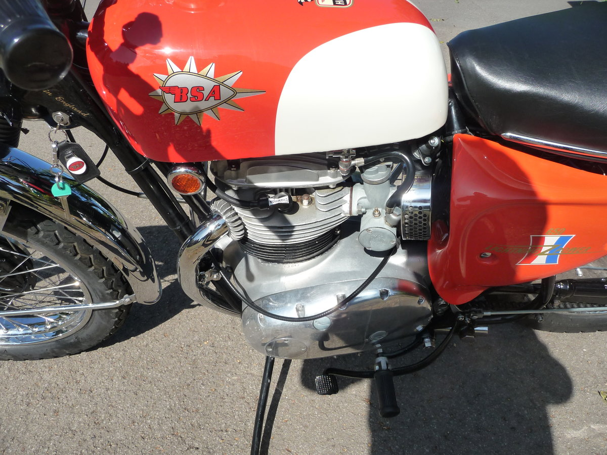 1967 BSA TT Hornet Number 68 of 70 made For Sale (picture 5 of 7)