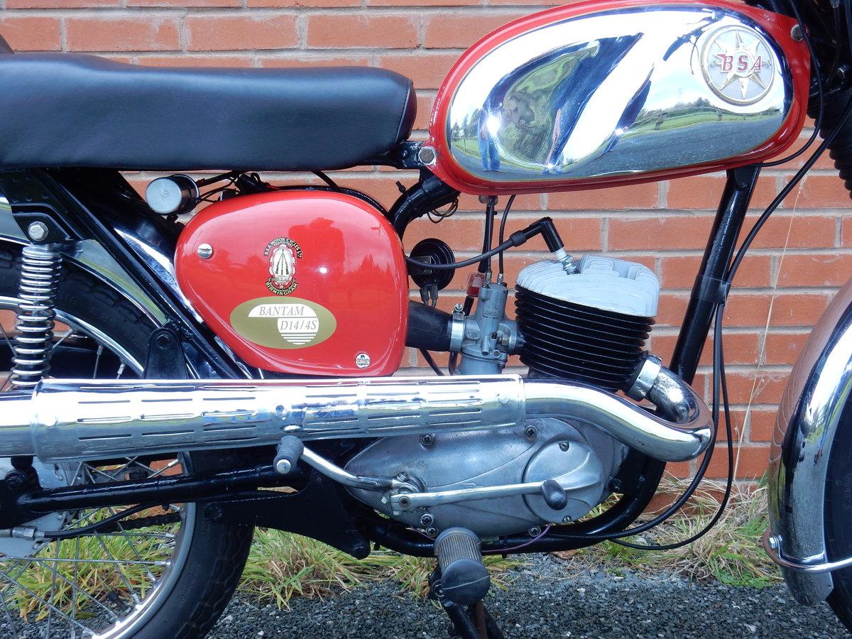 BSA Bantam D14B  Sport  175cc  1968 For Sale (picture 3 of 12)