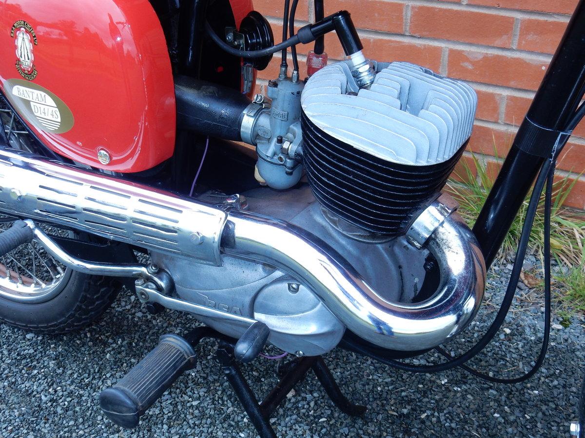 BSA Bantam D14B  Sport  175cc  1968 For Sale (picture 5 of 12)