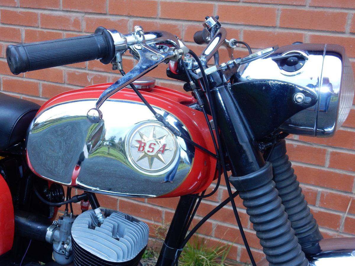 BSA Bantam D14B  Sport  175cc  1968 For Sale (picture 6 of 12)