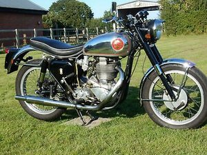 BSA Gold Star 500cc  1957  Electric Start  Original Reg