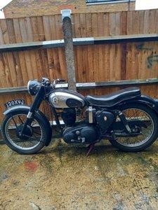 BSA C12 250cc Good condition .