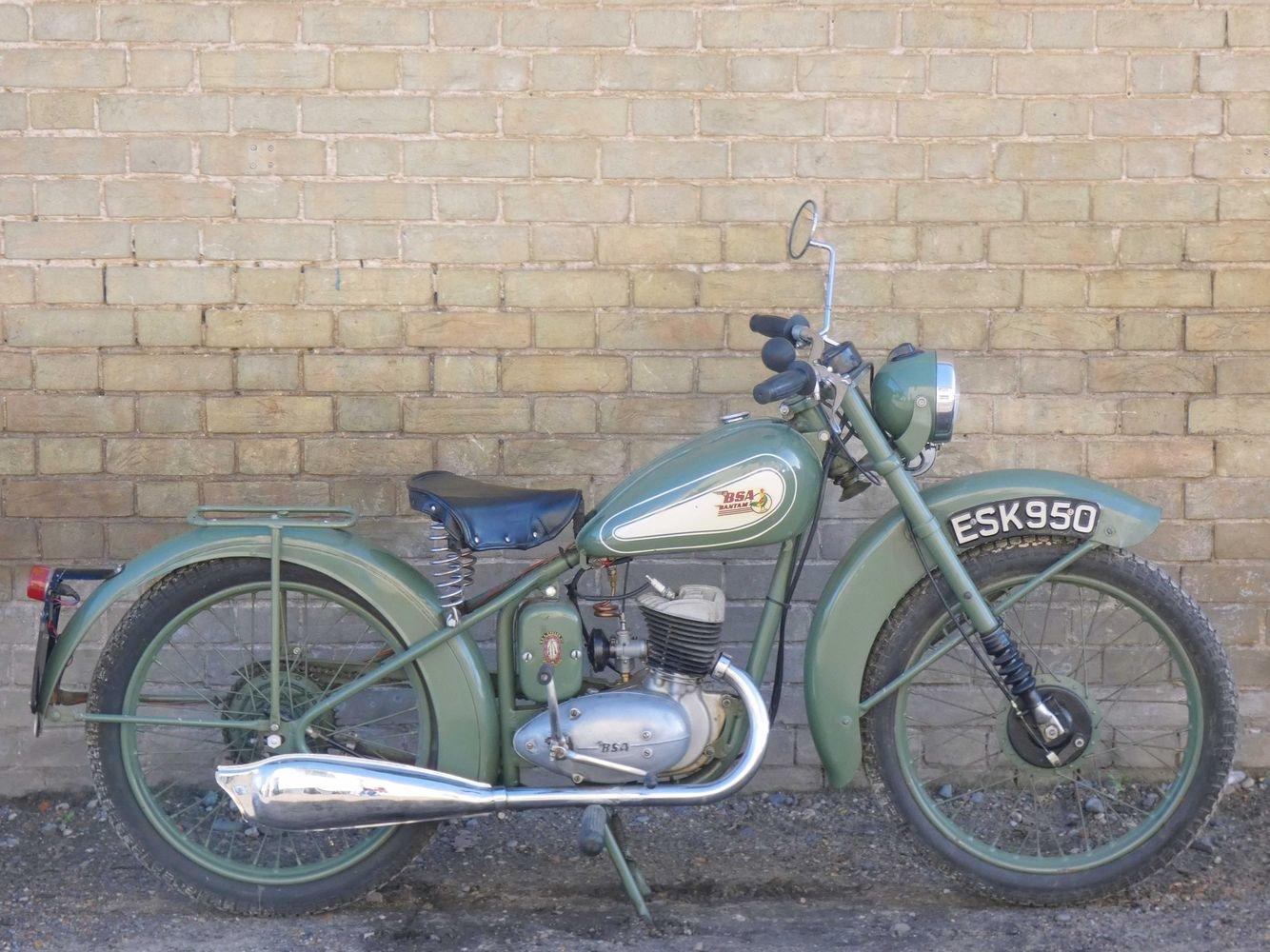 1952 BSA Bantam D1 125cc SOLD (picture 1 of 6)