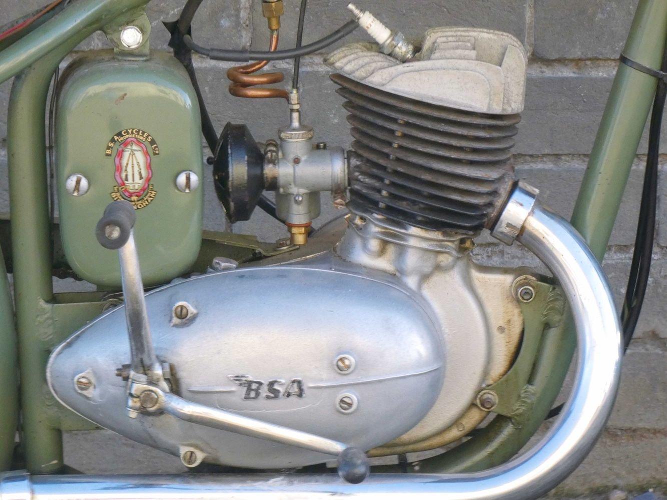 1952 BSA Bantam D1 125cc SOLD (picture 2 of 6)