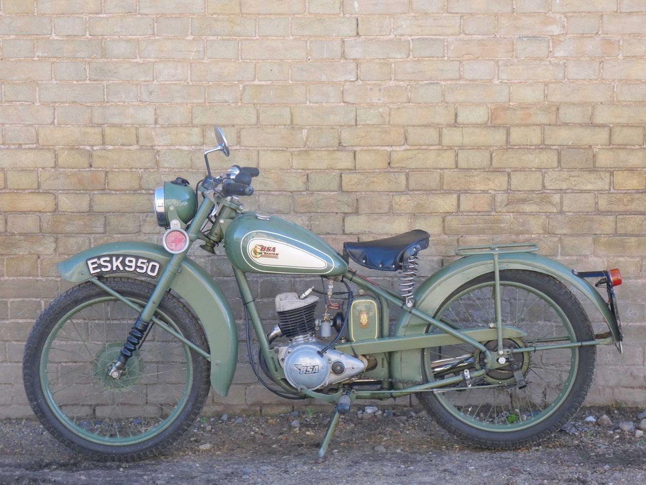 1952 BSA Bantam D1 125cc SOLD (picture 3 of 6)