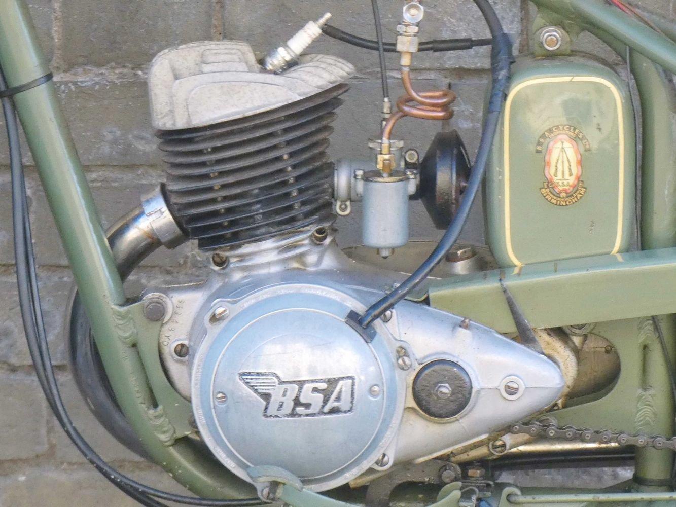 1952 BSA Bantam D1 125cc SOLD (picture 4 of 6)