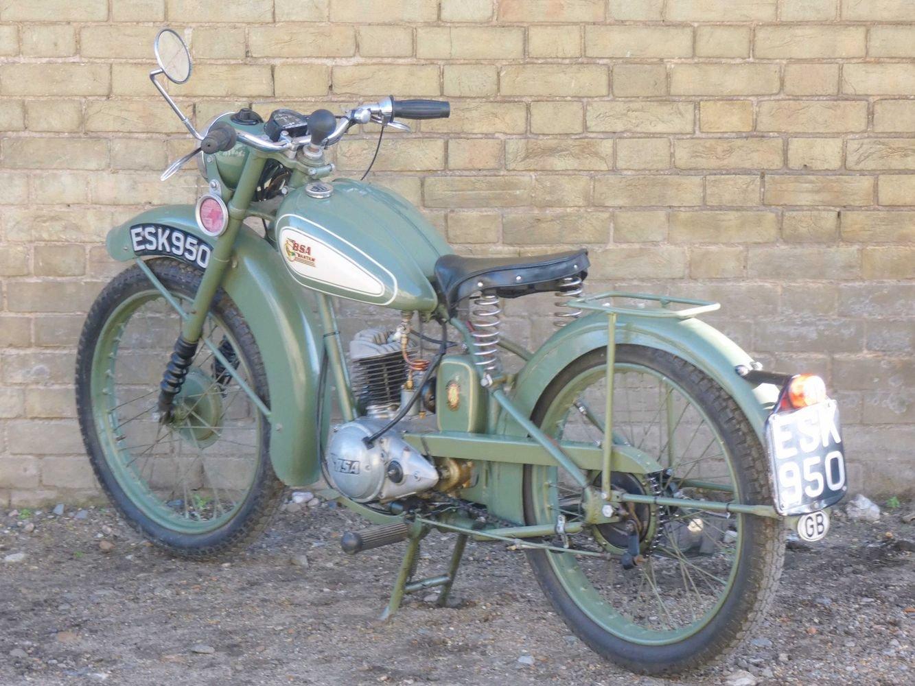 1952 BSA Bantam D1 125cc SOLD (picture 5 of 6)
