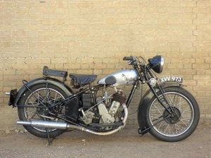 1931 BSA SV Sloper 557cc