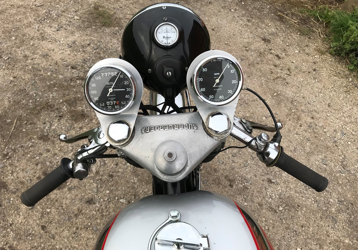 1957 BSA 500cc Goldstar, awesome runner For Sale (picture 5 of 9)