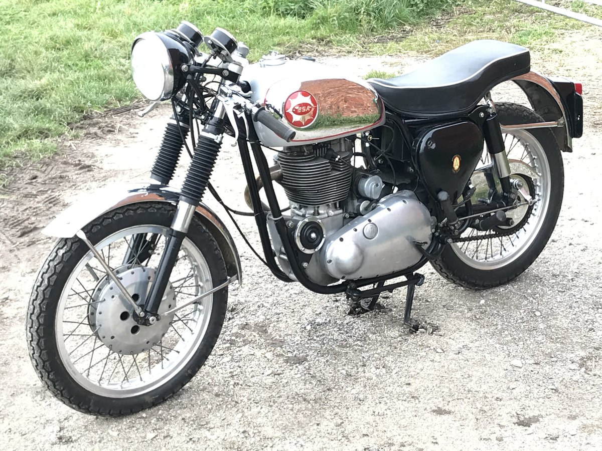 1957 BSA 500cc Goldstar, awesome runner For Sale (picture 6 of 9)
