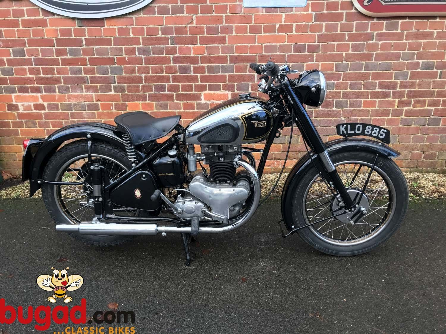 BSA A7 500cc - 1949 - Long Stroke - Plunger - Restored For Sale (picture 1 of 12)