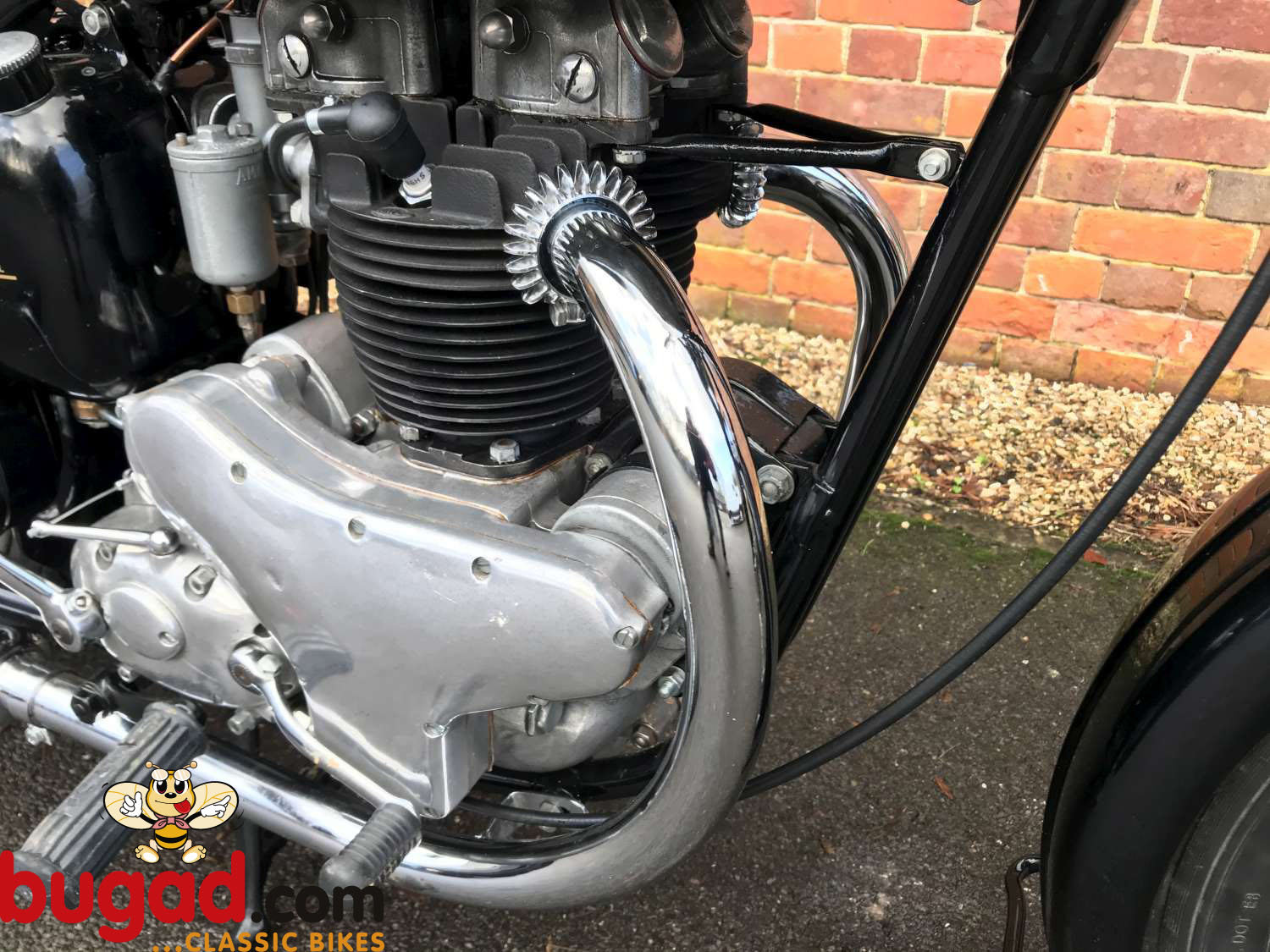 BSA A7 500cc - 1949 - Long Stroke - Plunger - Restored For Sale (picture 3 of 12)