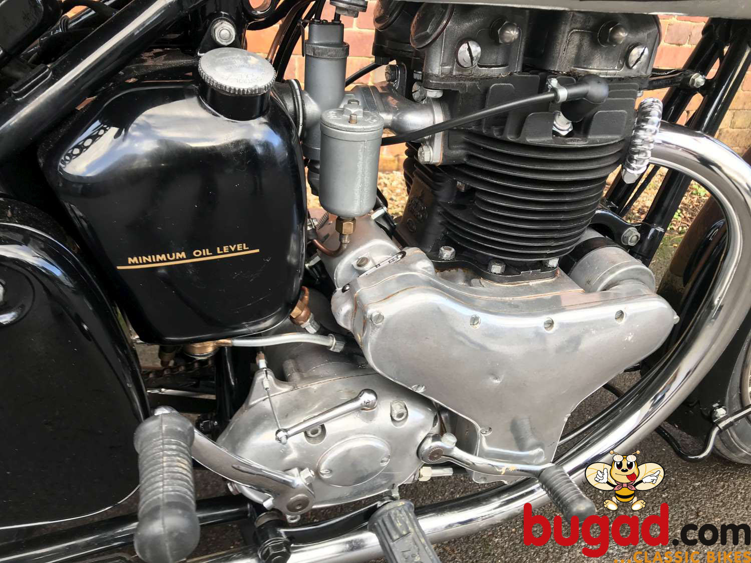 BSA A7 500cc - 1949 - Long Stroke - Plunger - Restored For Sale (picture 4 of 12)