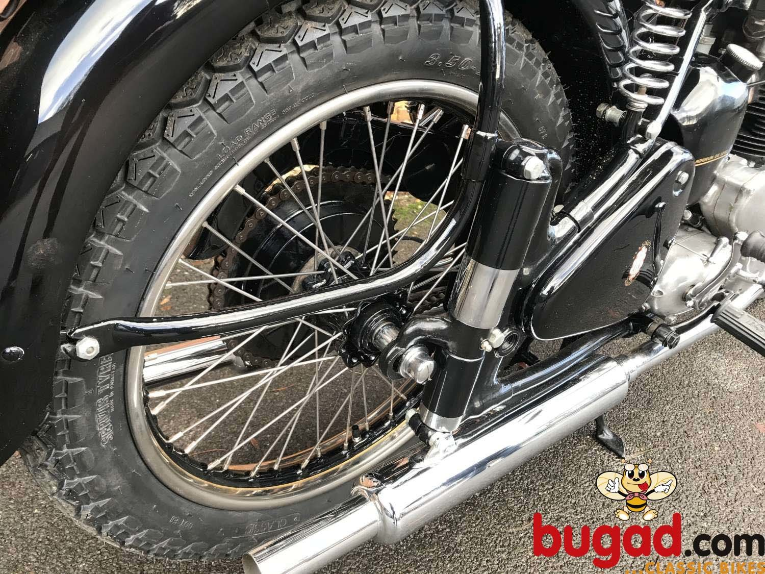 BSA A7 500cc - 1949 - Long Stroke - Plunger - Restored For Sale (picture 5 of 12)