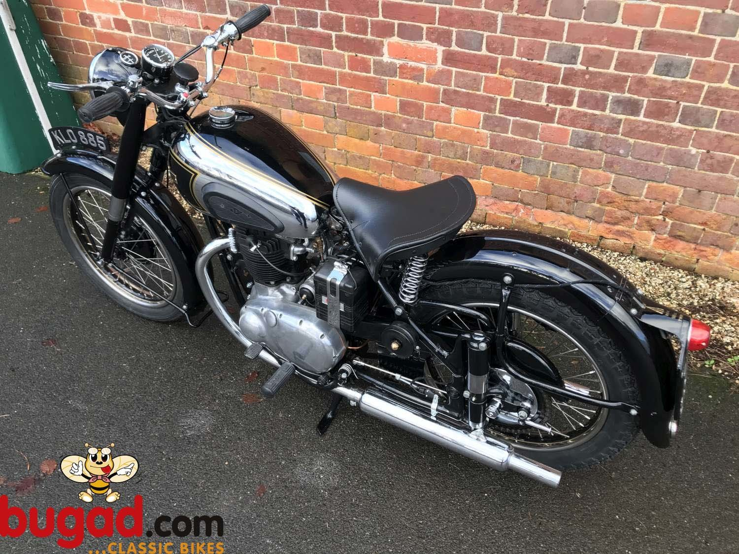 BSA A7 500cc - 1949 - Long Stroke - Plunger - Restored For Sale (picture 9 of 12)