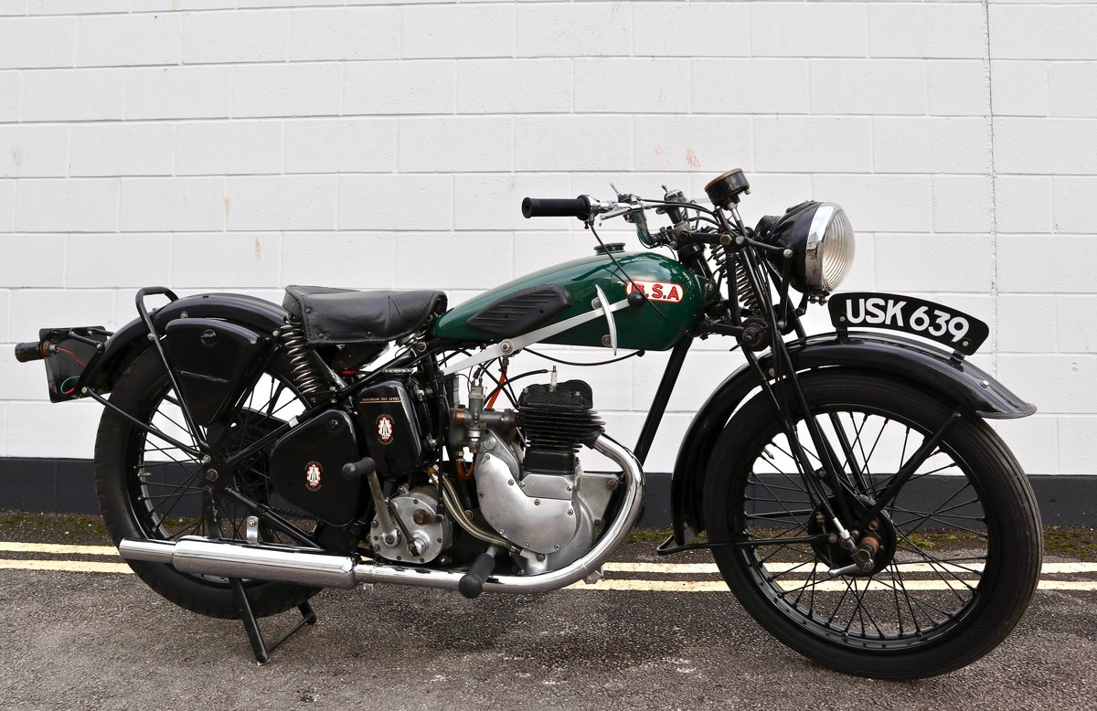 1938 BSA B20 250cc - A Very Rare Pre-War Vintage Model For Sale (picture 1 of 22)