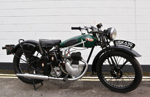Picture of 1938 BSA B20 250cc - A Very Rare Pre-War Vintage Model For Sale