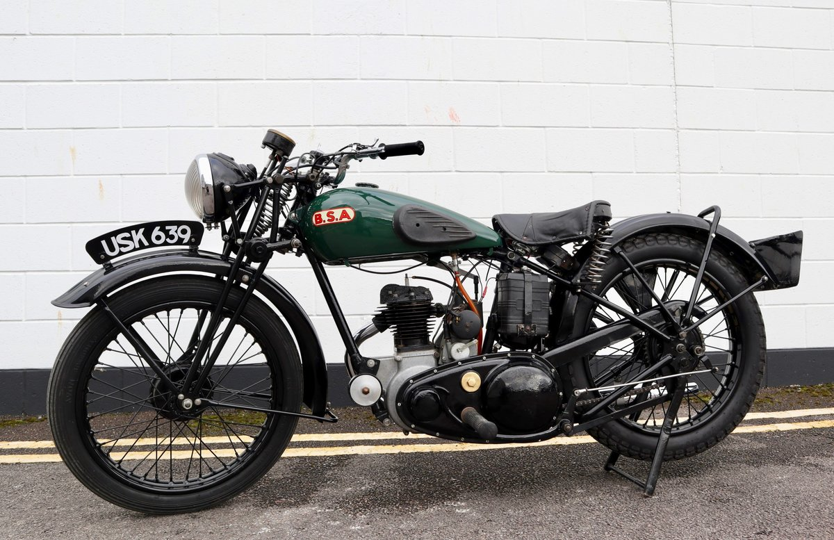 1938 BSA B20 250cc - A Very Rare Pre-War Vintage Model For Sale (picture 2 of 22)