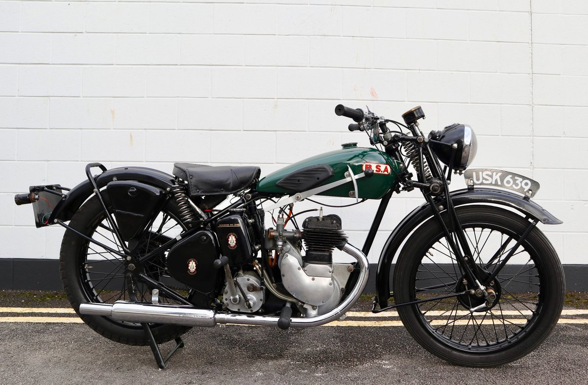 1938 BSA B20 250cc - A Very Rare Pre-War Vintage Model For Sale (picture 3 of 22)