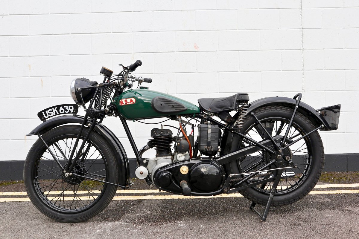 1938 BSA B20 250cc - A Very Rare Pre-War Vintage Model For Sale (picture 4 of 22)