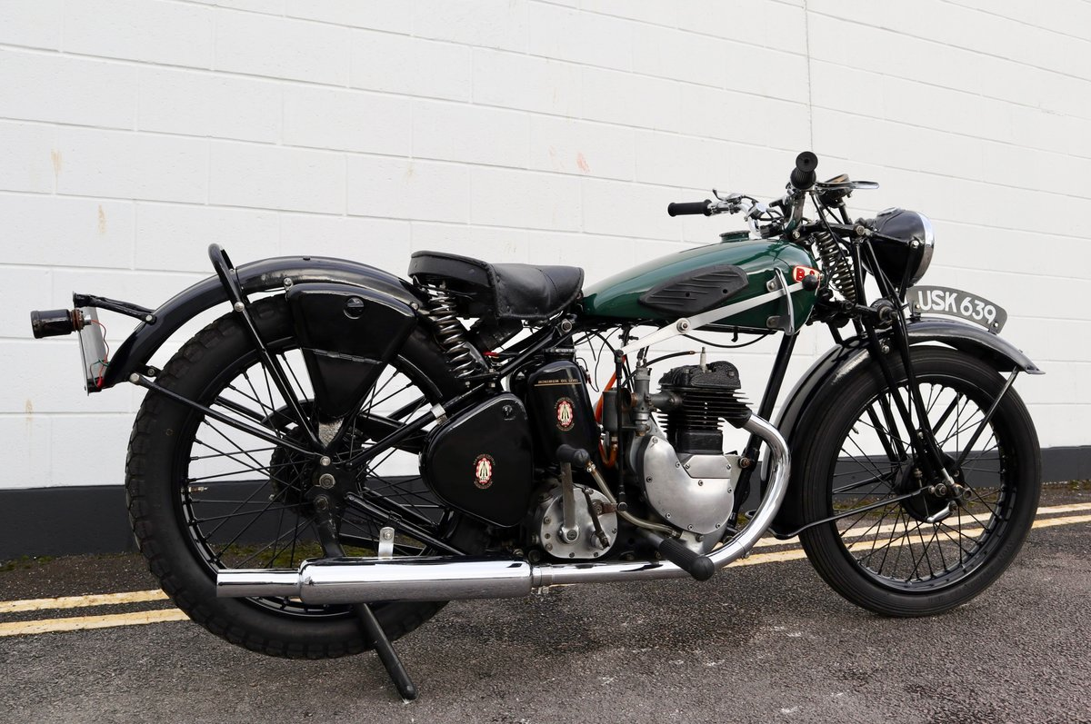 1938 BSA B20 250cc - A Very Rare Pre-War Vintage Model For Sale (picture 5 of 22)